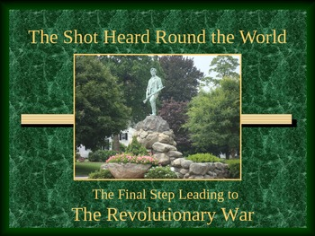 Revolutionary War PowerPoint Series-Revere, Lexington, Concord