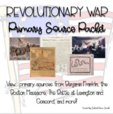 Revolutionary War Primary Source Packet