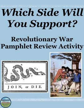 Revolutionary War Review Activity