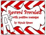 Reward Bracelets with Positive Messages