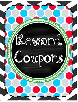 Reward Coupon Binder Cover