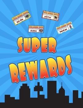 Reward Coupons Binder Superhero