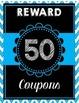 Reward Coupons Chalkboard Theme