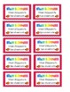 Reward Coupons- Great for Classroom Management