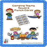 Reward Punch Cards Camping