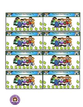 Reward Punch Cards Ecology