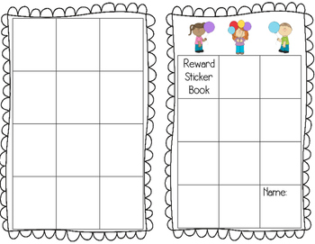 Reward Sticker Book
