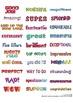 Reward Stickers: Print easily onto your own label stock.