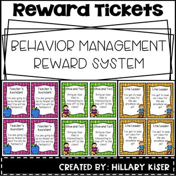 Reward Tickets (Behavior Motivation)