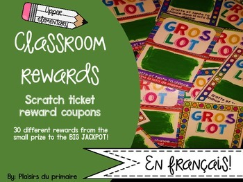 Reward coupons - récompenses