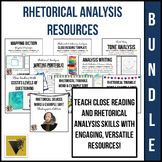 Rhetorical Analysis Bundle: Organizers, Activities, and As