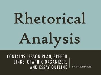 "Rhetorical Analysis: Comparing Wallace's ""Segregation Now"""