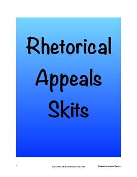 Rhetorical Appeals Skits - 36 Skit Prompts