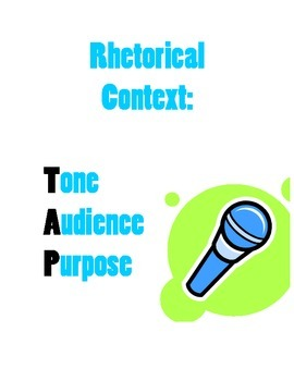 Rhetorical Context Poster