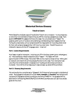 Rhetorical Devices Glossary