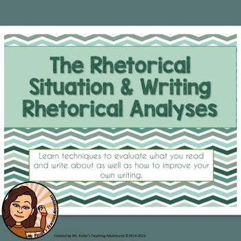 Rhetorical Situation and Analysis PDF Presentation