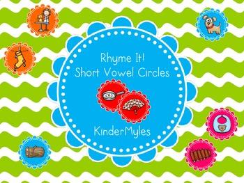 Rhyme It  - Short Vowel Circles