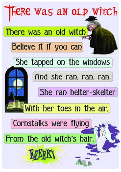"Rhyme ""Old witch"""
