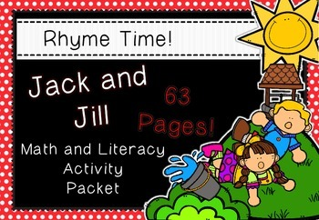 Rhyme Time - Jack and Jill - Nursery Rhyme Math and Litera