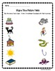 Rhyme Time Picture Match Worksheets