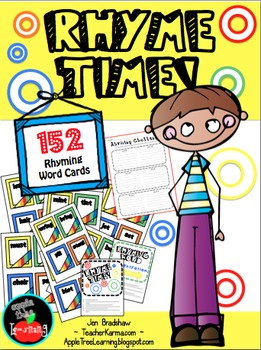 Rhyme Time, Rhyming Center Lessons, Hands-on Activity, RTI