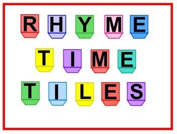 Rhyme Time Tiles