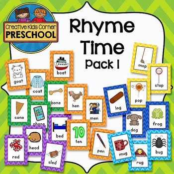 Rhyme Time pack 1