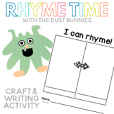 Rhyme Time with the Dust Bunnies Craft