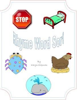 Rhyme Word Sort