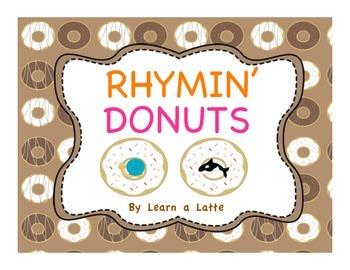 Rhymin' Donuts (Rhyming matching game)