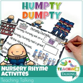 Rhyming Activity Pack : Humpty Dumpty