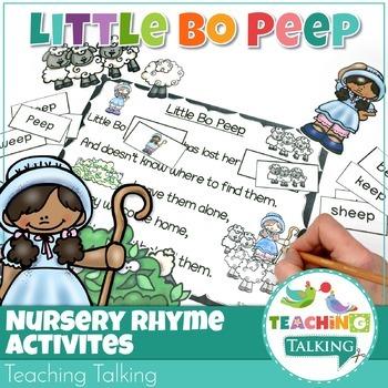 Rhyming Activity Pack: Little Bo Peep