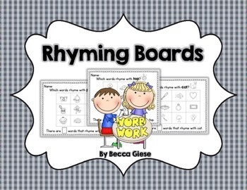 Rhyming Boards