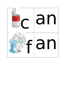Rhyming Cards - Can