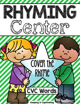 Rhyming Center {Cover the Rhyme}