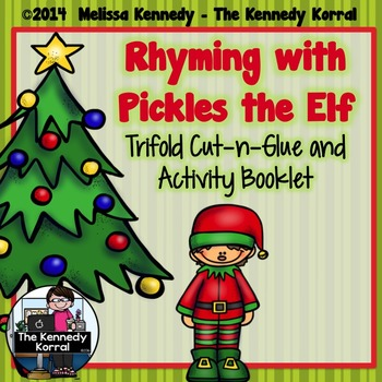 Rhyming with Pickles the Elf {Trifold and Activity Booklet}