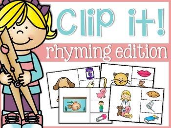Rhyming Clip It