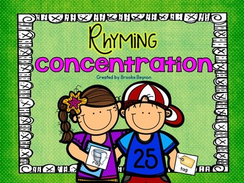 Rhyming Concentration