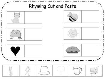 Common Worksheets ?» Cut And Paste Activities For Kindergarten ...