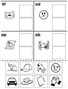 Printables Phonemic Awareness Worksheets For Kindergarten free rhyming cut and paste for phonological by tchrgrl awareness work