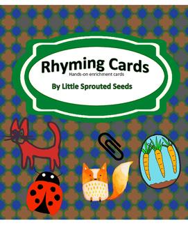 Rhyming Enrichment Cards