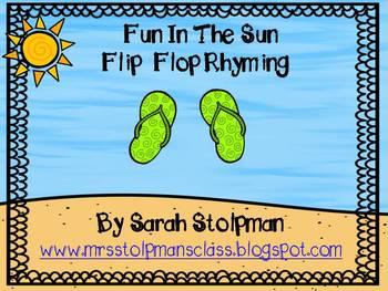 Rhyming (Flip Flop Fun)