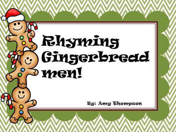 Rhyming Gingerbread Men