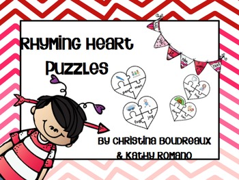 Rhyming Heart Puzzles