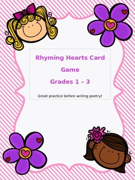 Rhyming Hearts Card Game
