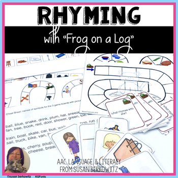 Rhyming Language Fun with Frog on a Log