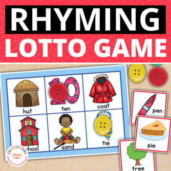 Rhyming Activity Matching Game