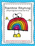 First Grade Rhyming Pack