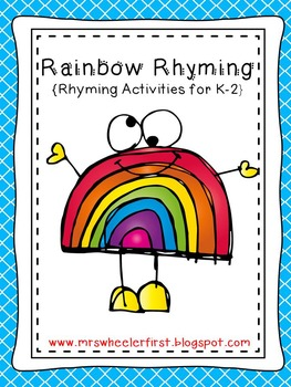 First Grade Rhyming Pack