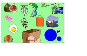"""Rhyming - """"Pack a Lunch"""" Smart Board lesson"""